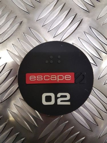 Escape Fitness Dumbell Weight Stickers, Numbers 2kg to 40kg